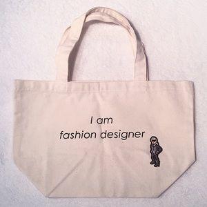 Handbags - canvas tote